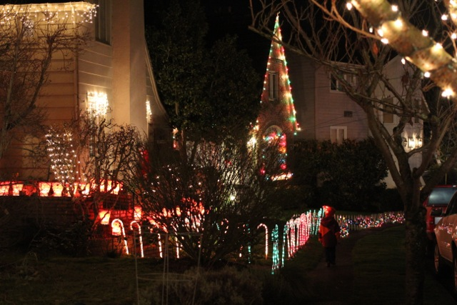 A Holiday Tradition: Candy Cane Lane in Ravenna