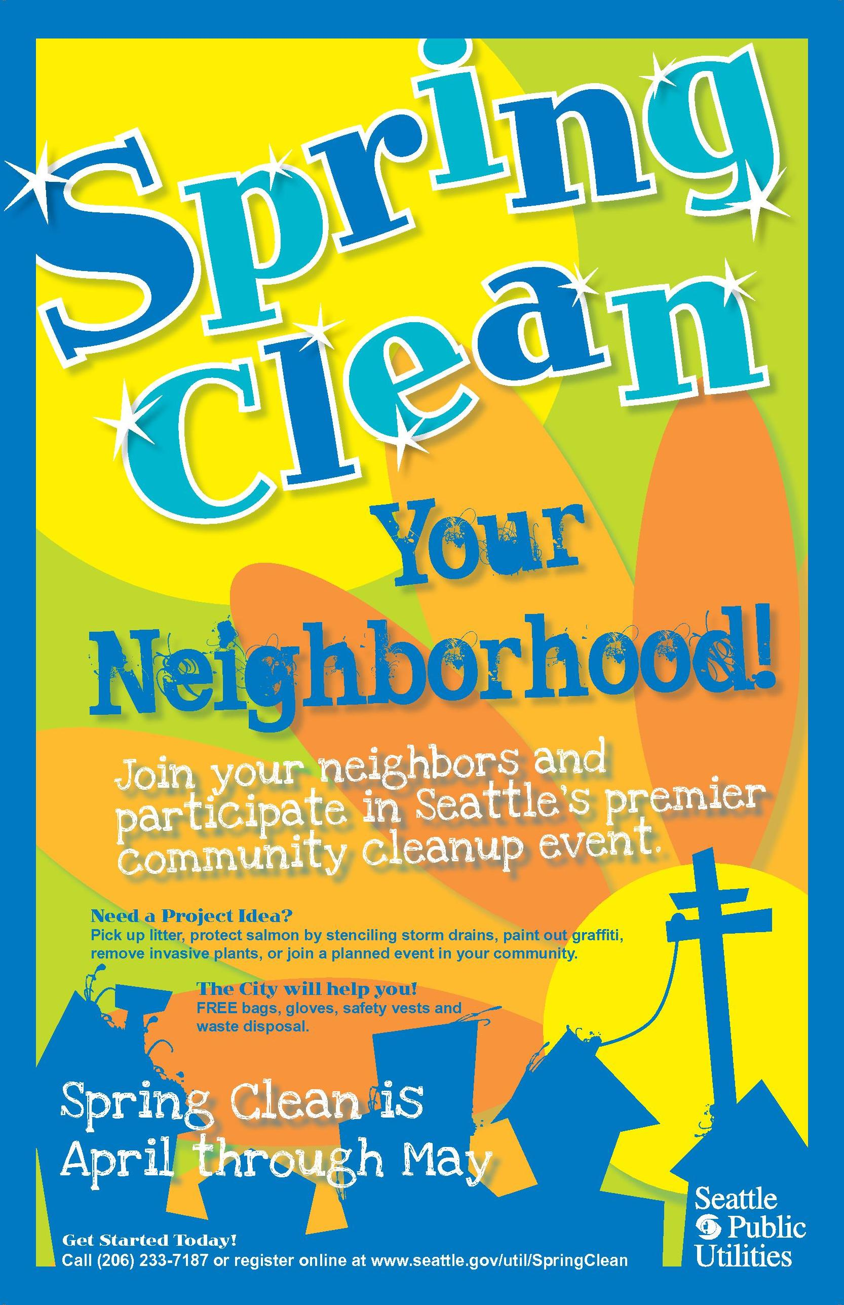 Spring Clean Your Neighborhood