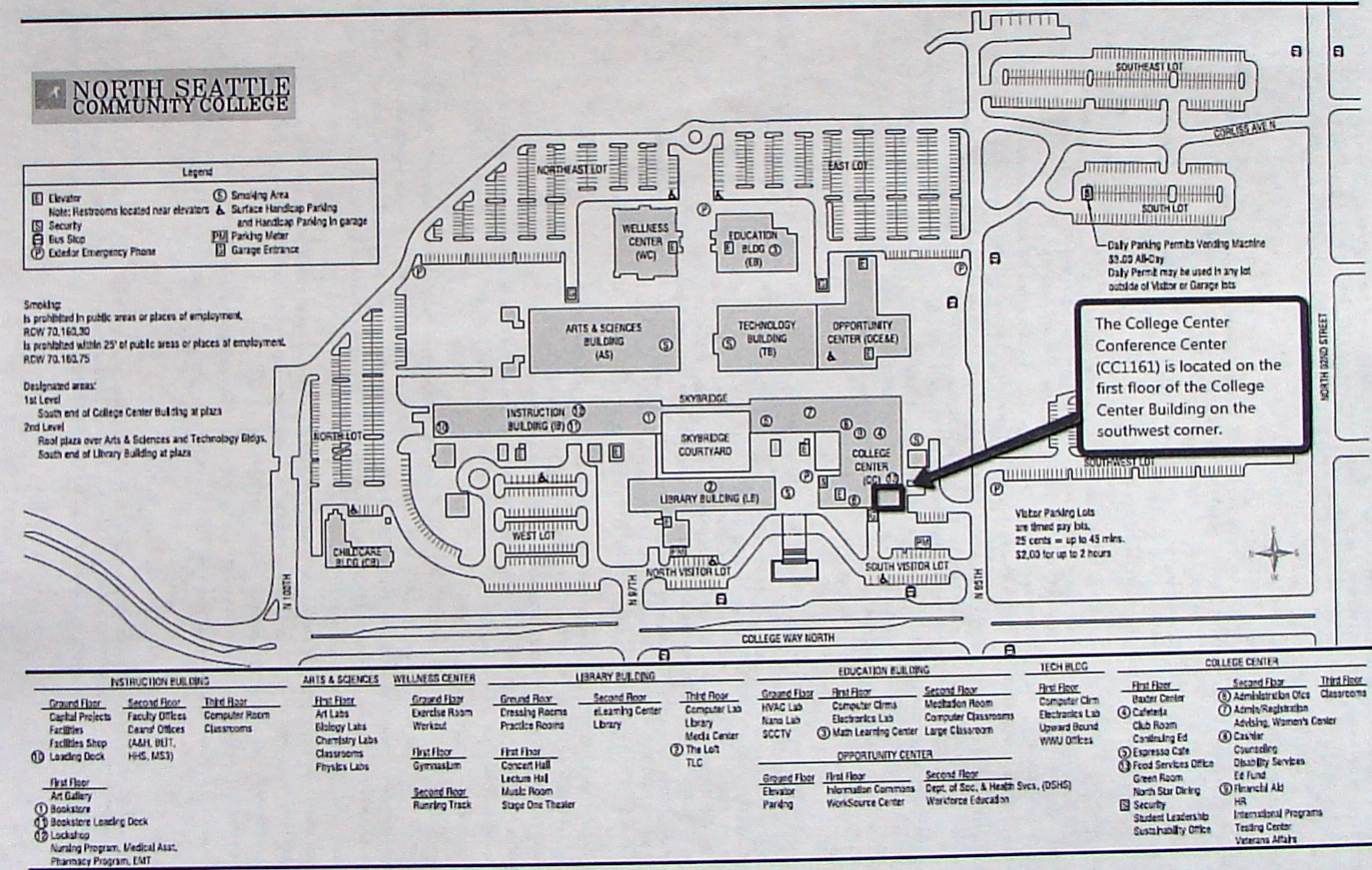 North Seattle Community College Map Chicago Map