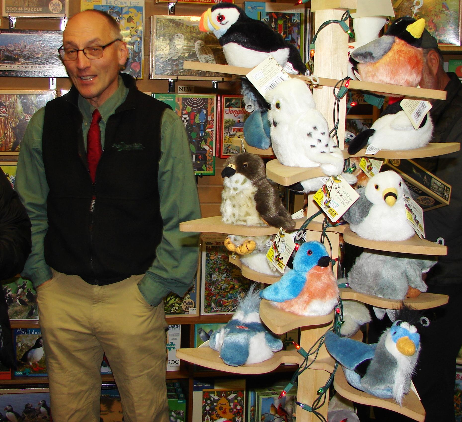 Gift Season:  Shop Local at Seattle Audubon