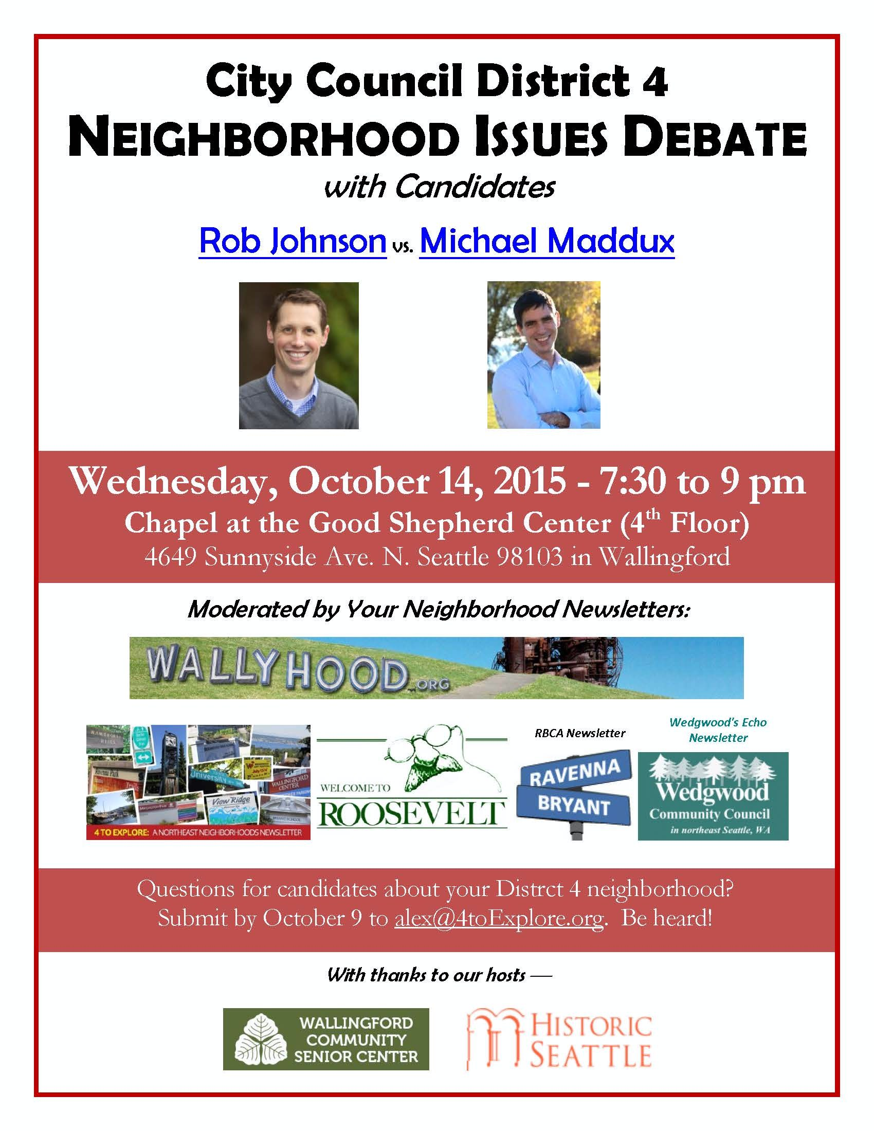 District 4 Candidate Debate